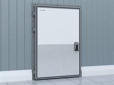 Распашные двери для охлаждаемых помещений