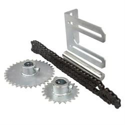 Комплект TRANSCHAIN 1:1,5, для установки вального привода через цепь с передаточным отношением 1:1,5 - фото 4599
