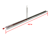 Направляющая SK-4200 с цепью L=4200мм, H=3400мм
