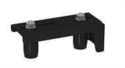 Направляющее устройство увеличенное, с новыми роликами RAL9005
